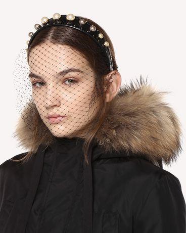 REDValentino QQ0J0A81XSE 0NO Headband Woman r