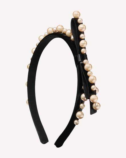 REDValentino Headband Woman QQ0J0A86JTB 0NO a