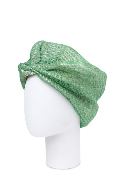 MISSONI Turbante Verde acido Donna - Fronte