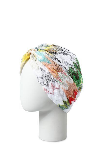 MISSONI Turbante Bianco Donna - Fronte