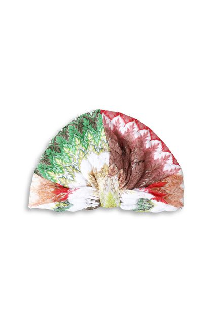 MISSONI Turban White Woman - Back
