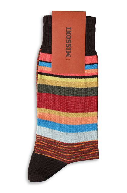 MISSONI Long socks Cocoa Man - Front