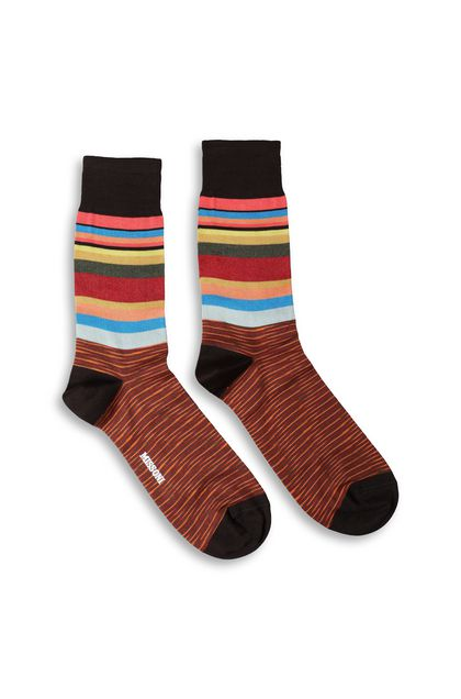 MISSONI Long socks Cocoa Man - Back
