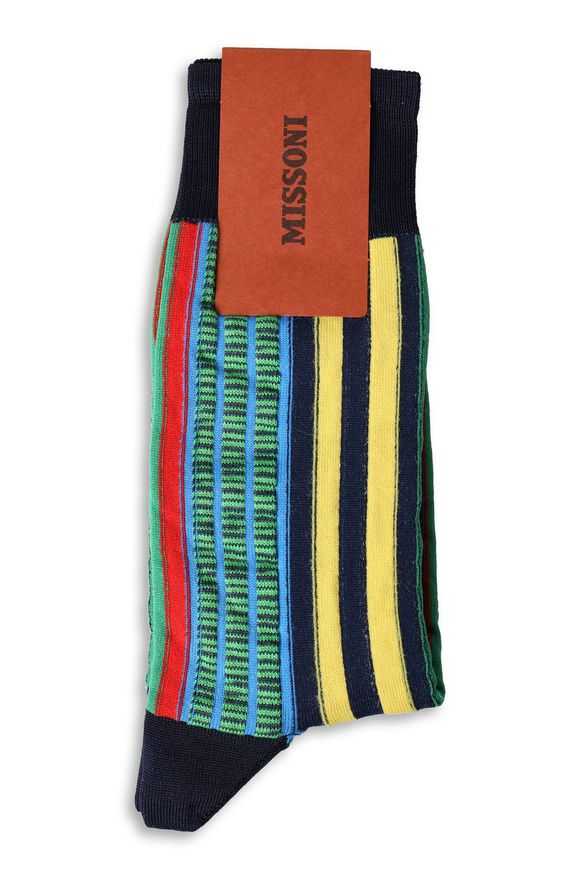 MISSONI Short socks Man, Rear view