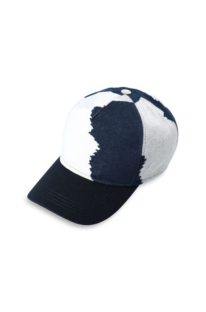 MISSONI Hat Dark blue Man - Back