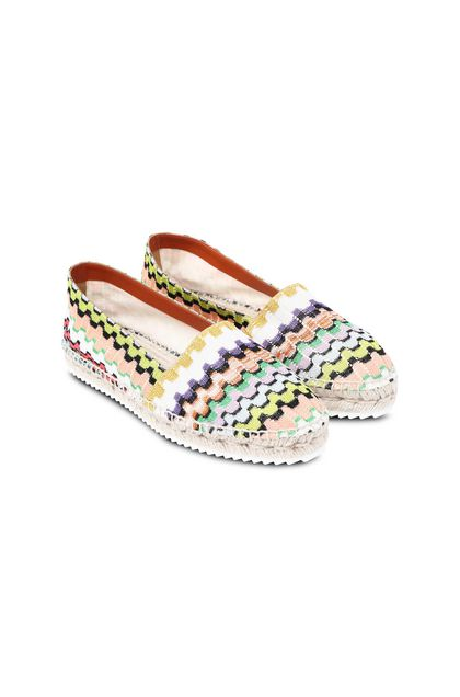 MISSONI Moccasins White Woman - Front