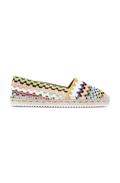 MISSONI Moccasins White Woman - Back