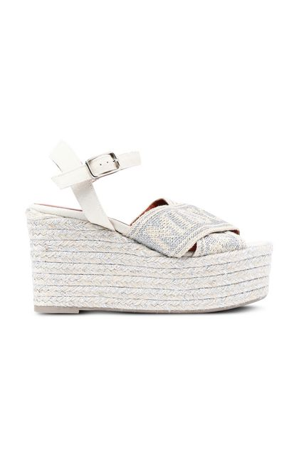 MISSONI Sandals Beige Woman - Back