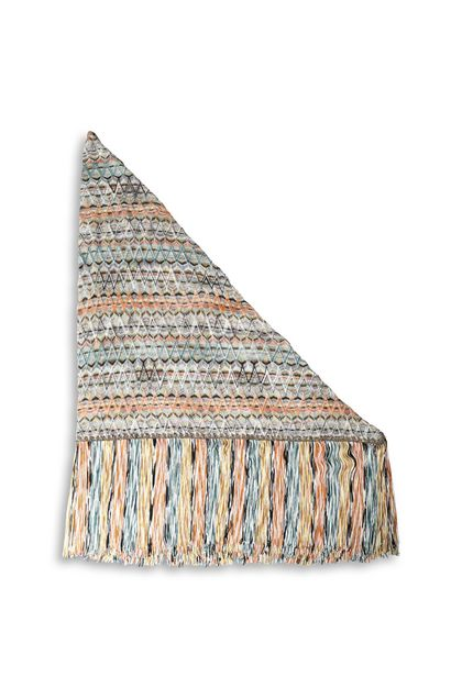 MISSONI Shawl Orange Woman - Front