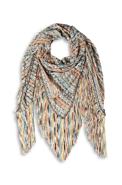 MISSONI Shawl Orange Woman - Back