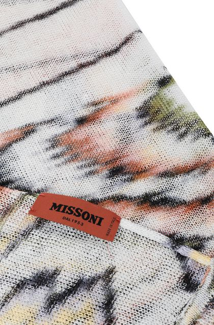 MISSONI Stole Orange Woman - Front