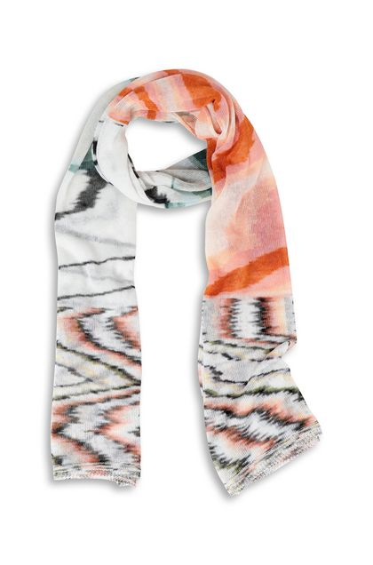 MISSONI Stole Orange Woman - Back
