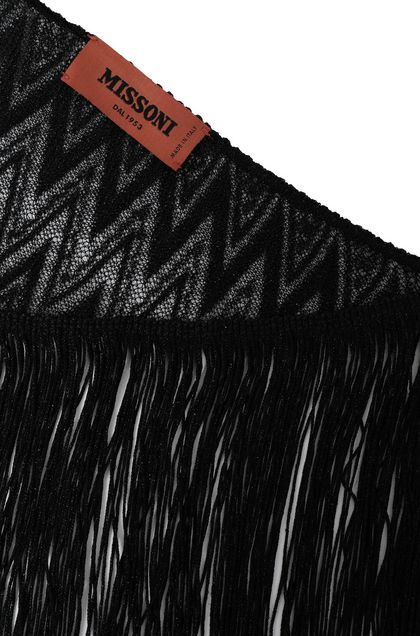 MISSONI Shawl Black Woman - Front