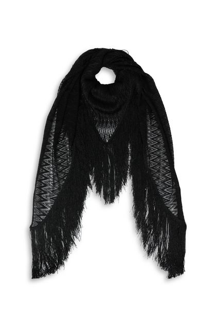 MISSONI Shawl Black Woman - Back