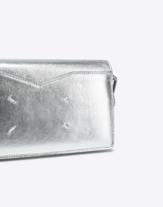 MAISON MARGIELA Silver wallet Wallet [*** pickupInStoreShipping_info ***] a