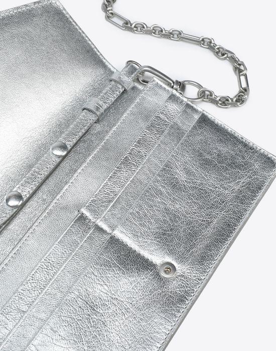 MAISON MARGIELA Silver wallet Wallet [*** pickupInStoreShipping_info ***] e