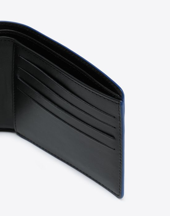 MAISON MARGIELA Laminated leather wallet Wallet [*** pickupInStoreShippingNotGuaranteed_info ***] a
