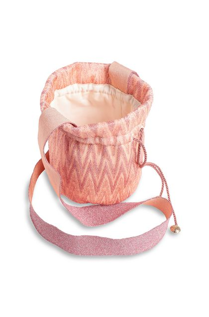 MISSONI KIDS Bags Salmon pink Woman - Front