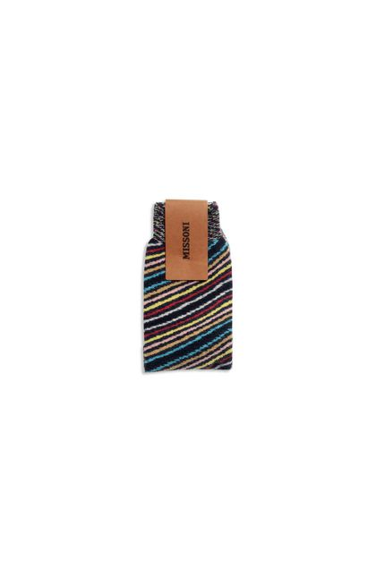 MISSONI Long socks Dark green Man - Front