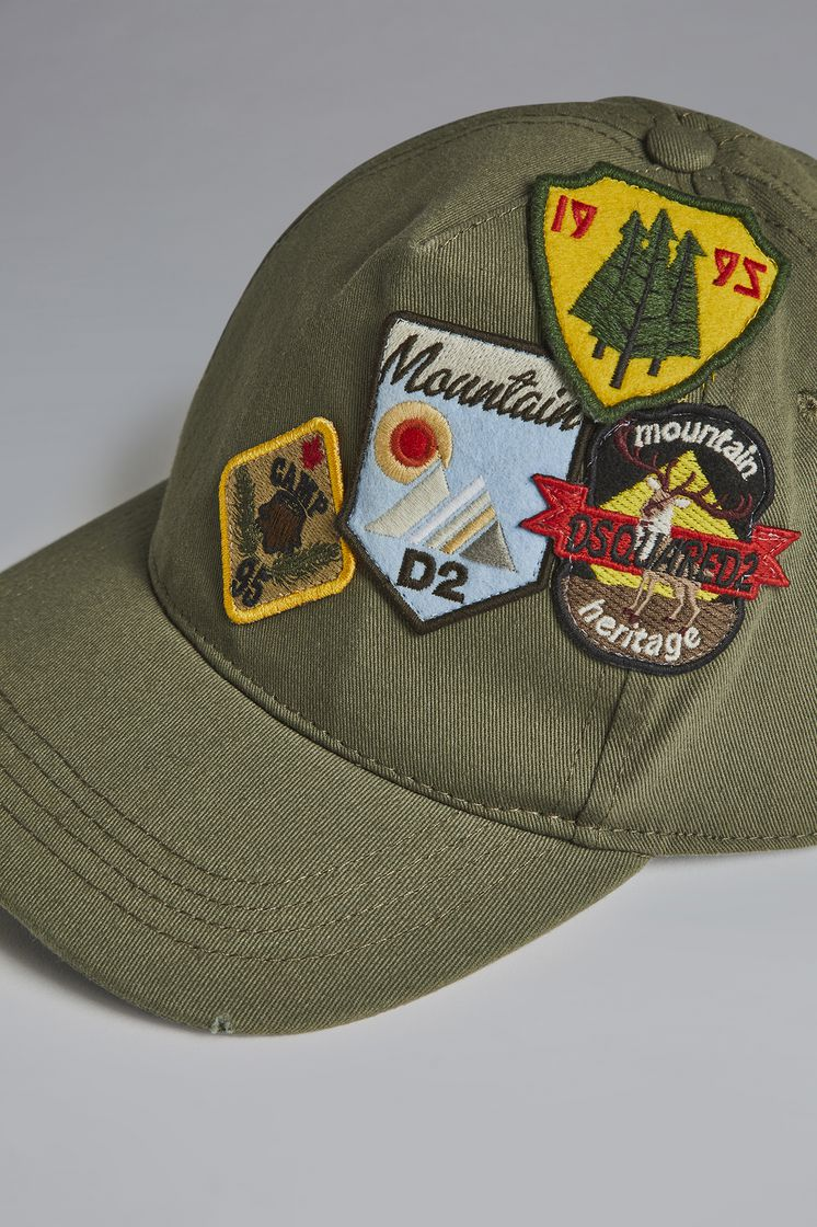 DSQUARED2 Patches Baseball Cap Hat Man