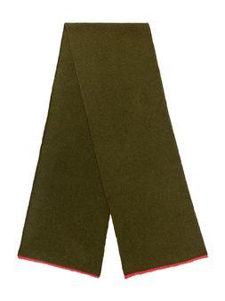 Marni Scarf in green and fuchsia virgin wool, mohair and nylon Woman