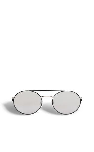 Round aviator-style sunglasses