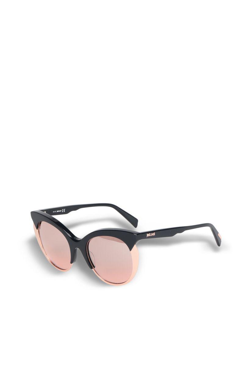 JUST CAVALLI Two-tone cat-eye sunglasses SUNGLASSES Woman r