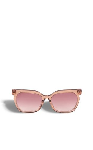 Sunglasses with V-detail