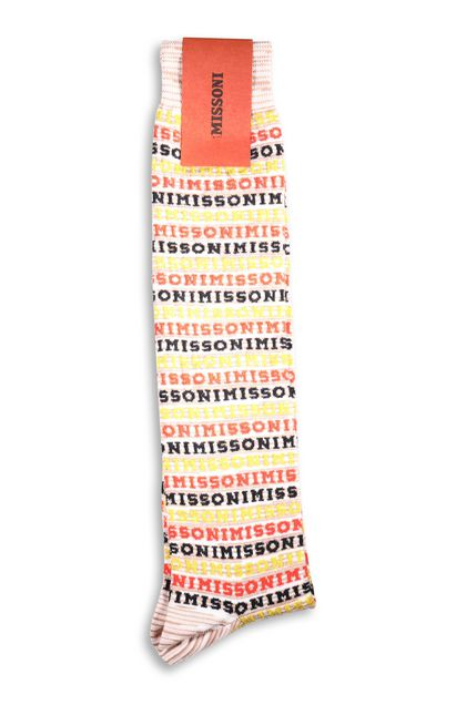 MISSONI Socks Orange Woman - Front