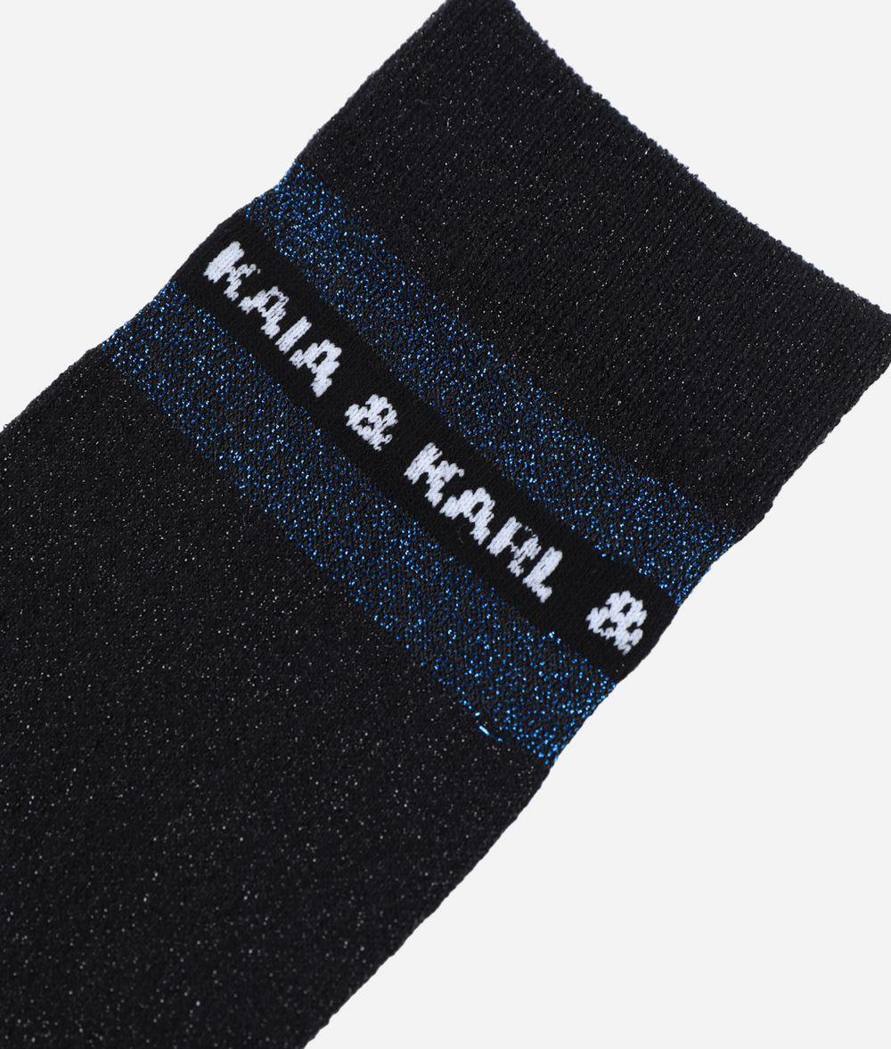 KARL LAGERFELD Karl X Kaia Glitter Socks Sock Woman r