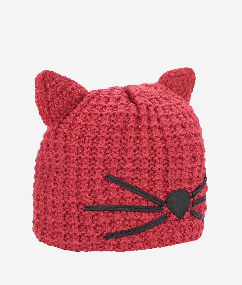 KARL LAGERFELD Choupette Beanie Hat Hat Woman f