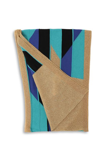 M MISSONI Scarf Turquoise Woman - Front