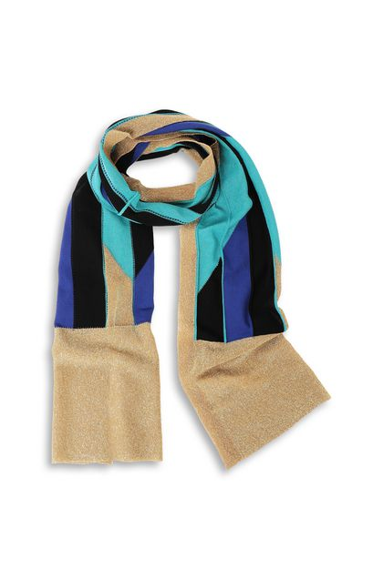 M MISSONI Scarf Turquoise Woman - Back