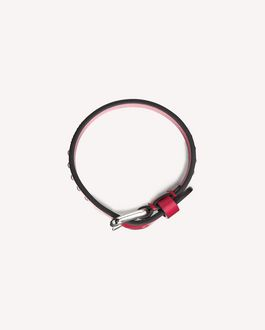 REDValentino RED SIGNS LEATHER BRACELET