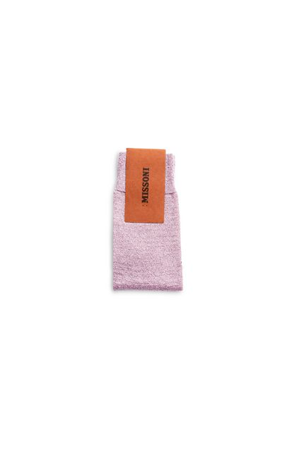 MISSONI Socks Pink Woman - Front