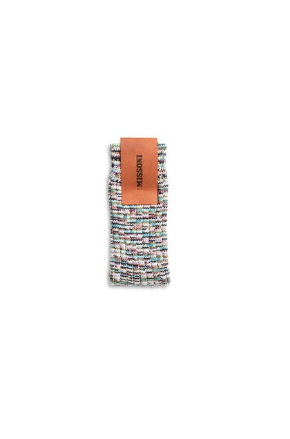 MISSONI Socks Sky blue Woman - Front