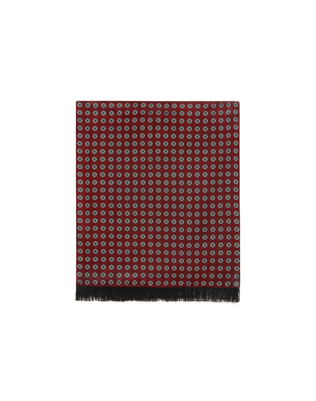 BRIONI Bordeaux Scarf Foulards & Scarves Man f