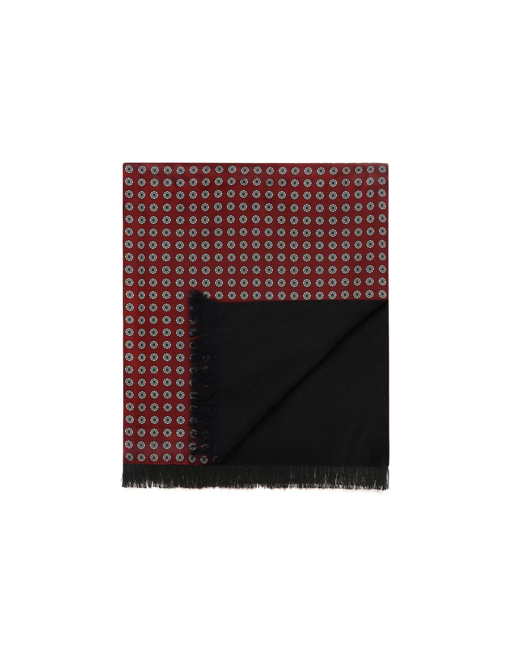 BRIONI Bordeaux Scarf Foulards & Scarves Man r