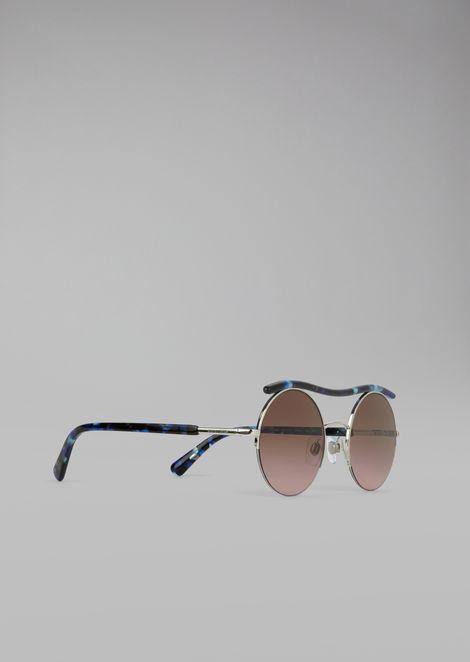 Cat Walk Open Lenses glasses with wavy tubular detail 711a2fdf9b