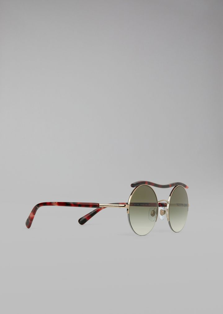 0842b241caa Cat Walk Open Lenses glasses with wavy tubular detail