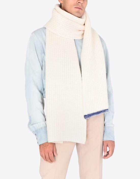 MAISON MARGIELA Cashmere knit scarf Scarf [*** pickupInStoreShippingNotGuaranteed_info ***] b