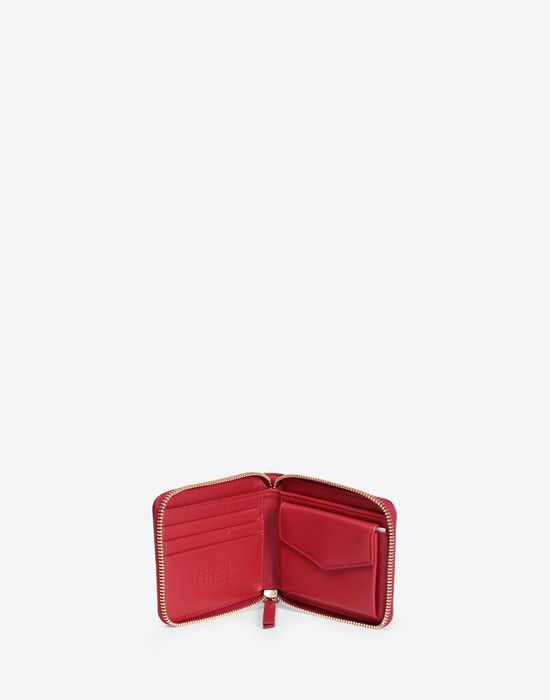 MAISON MARGIELA Leather wallet with embossed logo Wallet [*** pickupInStoreShipping_info ***] d