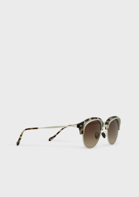 Catwalk sunglasses with two-tone frame