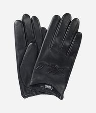 KARL LAGERFELD K/Signature Leather Gloves 9_f
