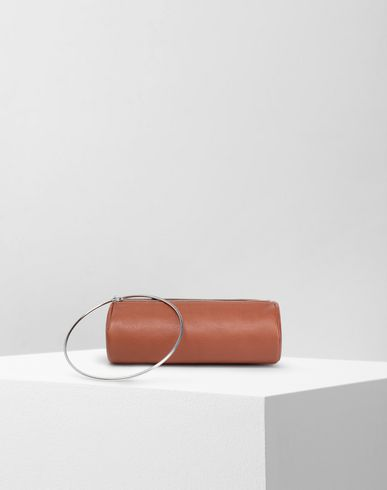 MM6 MAISON MARGIELA Wallet Woman Ring leather pochette  f