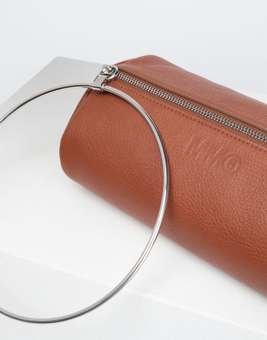 MM6 MAISON MARGIELA Ring leather pochette  Wallet [*** pickupInStoreShipping_info ***] e