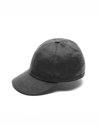 Grey Baseball Hat