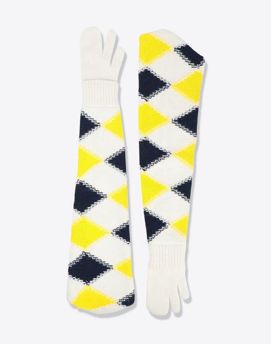 MAISON MARGIELA Oversized 'Tabi' long knit muffs Muff [*** pickupInStoreShipping_info ***] r
