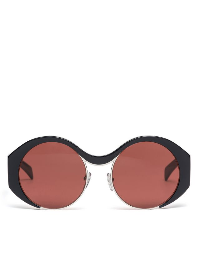 Marni Marni CROP sunglasses in acetate Woman - 1