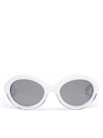 Marni Marni POP sunglasses in white acetate and crystal Woman